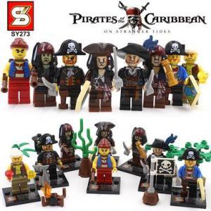 เลโก้จีน SY.273 ชุด pirate of the caribbean (สินค้ามือ 1 ไม่มีกล่อง)