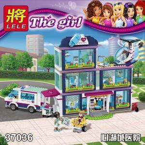 เลโก้จีน LELE.37036 ชุด Friends Heartlake Hospital
