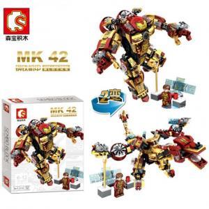 เลโก้จีน SY.60021 ชุด Hulk buster MK42