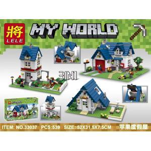 เลโก้จีน LELE.33037 ชุด Minecraft 3in1