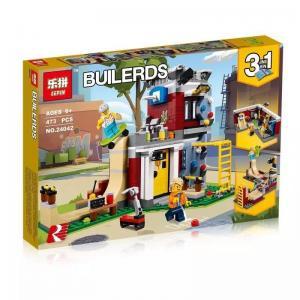 เลโก้จีน LEPIN.24042 ชุด Modular Skate House 3in1
