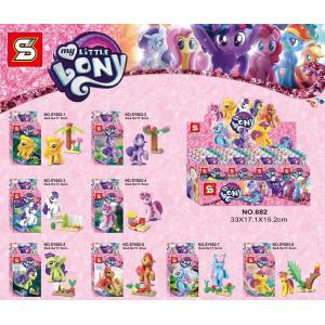 เลโก้จีน SY.682 ชุด Little Pony