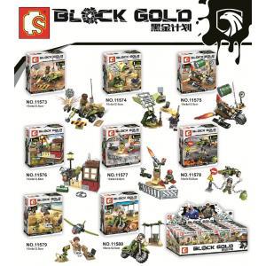 เลโก้จีน Sembo.11573-11580 ชุด Block Gold