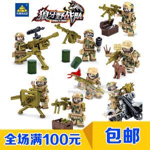 เลโก้จีน KY.82016 ชุด Wolf's Fang