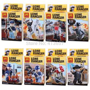 เลโก้จีน LELE78010 Lone Ranger