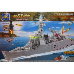 เลโก้จีน Kazi84029 เรือรบ
