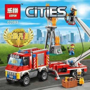 เลโก้จีน LEPIN.02083 ชุด City : Fire Utility Truck
