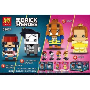 เลโก้จีน LELE.39071 ชุด Brick Heads Disney