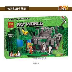 เลโก้จีน BELA.10623 ชุด Minecraft The Jungle Temple