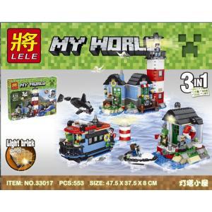 เลโก้จีน LELE 33017 ชุด Minecraft 3in1