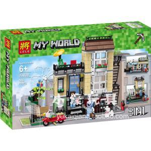 เลโก้จีน LELE.33038 ชุด Minecraft 3in1