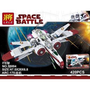เลโก้จีน LELE.35004 ชุด Starwars ARC-170 Star Fighter