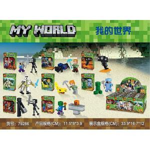 เลโก้จีน LELE79286 ชุด Minecraft