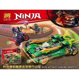 เลโก้จีน LELE.31119 ชุด Ninja Go Nightcrawler