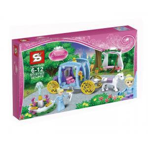 เลโก้จีน SY 323 ชุด Princess Cinderella