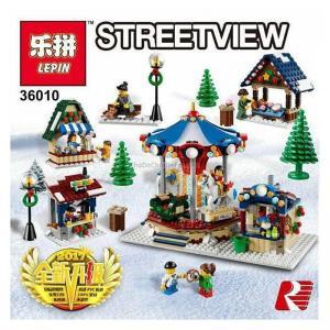 เลโก้จีน LEPIN.36010 ชุด Winter Vilage Market