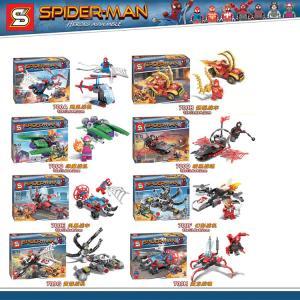 เลโก้จีน SY.700 A-H ชุด Spider man