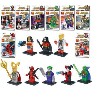 เลโก้จีน LELE78026 Super heroes