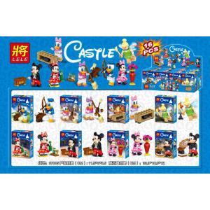 เลโก้จีน LELE37005 ชุด Disney Minifigures