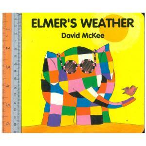 elmer weather -Board Book