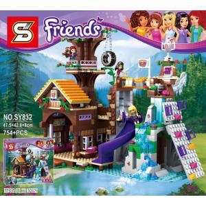 เลโก้จีน SY.832 ชุด Friends Adventure Camp tree House
