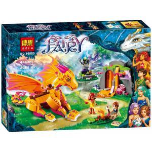 เลโก้จีน Bela10503 ชุด Fairy มังกรส้ม