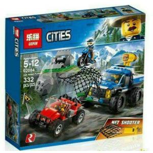 เลโก้จีน LEPIN.02084 ชุด City Police Dirt Road Pursuit
