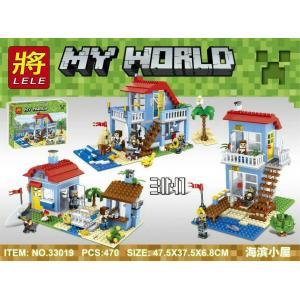 เลโก้จีน LELE 33019 ชุด Minecraft 3in1