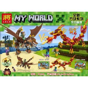 เลโก้จีน LELE.33069 ชุด Minecraft