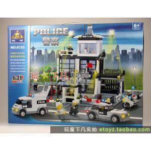เลโก้จีน Kazi6725 สถานีตำรวจ