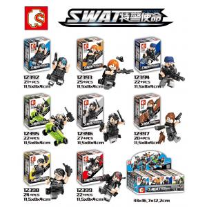 เลโก้จีน Sembo.12392-12399 ชุด SWAT