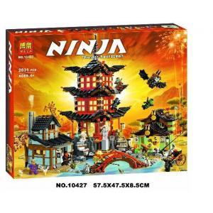 เลโก้จีน BELA10427 ชุด ปราสาท Ninja Go