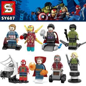เลโก้จีน SY.687 ชุด Heroes assemble