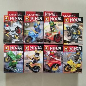 เลโก้จีน DLP.9070 ชุด Ninja Go Movie มอเตอร์ไซต์
