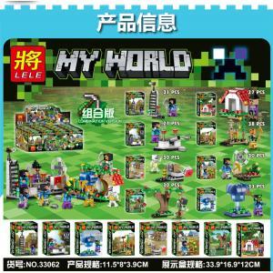 เลโก้จีน LELE.33062 ชุด Minecraft