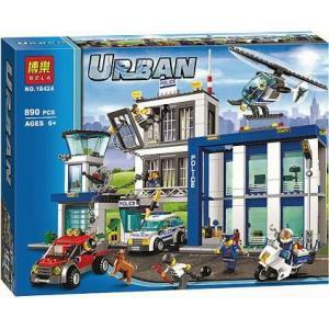 เลโก้จีน Bela.10424 ชุด Urban Police Station