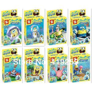 เลโก้จีน SY177 spongebob