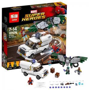 เลโก้จีน LEPIN.07076 ชุด Spiderman Beware The Vulture