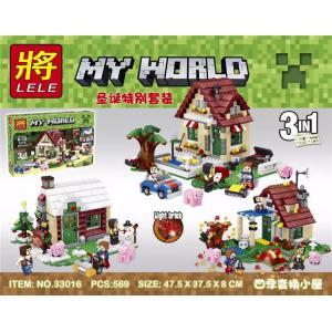 เลโก้จีน LELE 33016 ชุด Minecraft 3in1