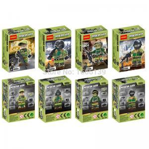 เลโก้จีน Decool304-307 Modern War