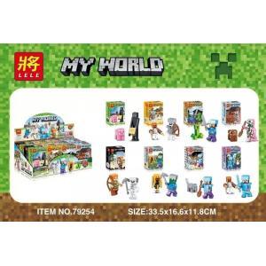 เลโก้จีน LELE 79254 ชุด Minecraft