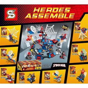 เลโก้จีน SY.630 ชุด Spider man