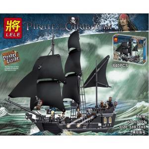 เลโก้จีน LELE.39009 ชุด Pirates of the Caribbean Black Pearl