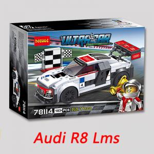 เลโก้จีน Decool.78114 ชุด Ultra Car Competition Audi R8 LMS Ultra