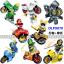 เลโก้จีน DLP.9070 ชุด Ninja Go Movie มอเตอร์ไซต์ thumbnail 3