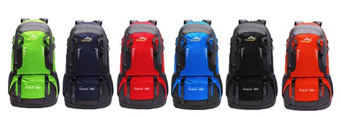 กระเป๋าเป้ Extract leading backpack 60 ลิตร
