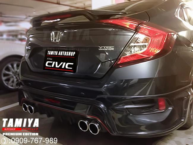 ชุดแต่ง Honda Civic 2016