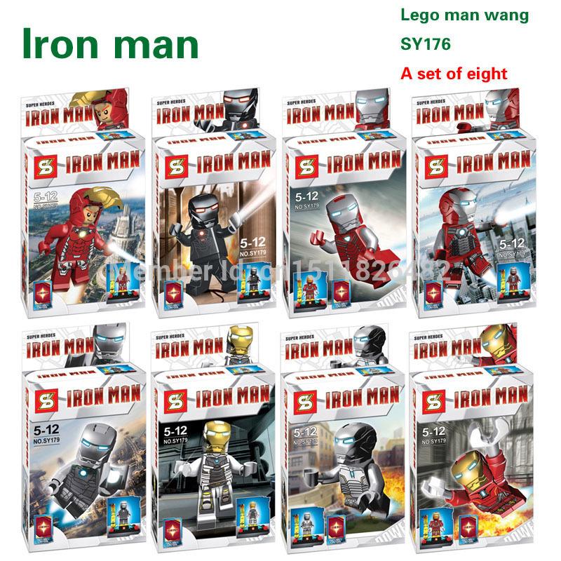 เลโก้จีน SY179 super heroes ironman