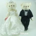 ตุ๊กตาหมีคู่รัก ขนาด 0.36 เมตร (แบบที่ 12)