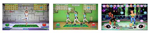Dance Pad Yoga Game